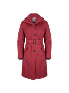 dames-regenjas-winterparka-happy-rainy-days-rome-rood