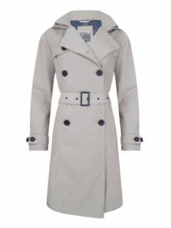 Dames-regentrenchcoat-Happy-Rainy-Days-Cleveland-Clay-voorkant