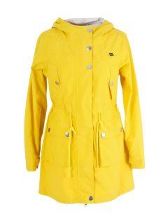 danefae-gritt-regenparka-dames-geel-voor