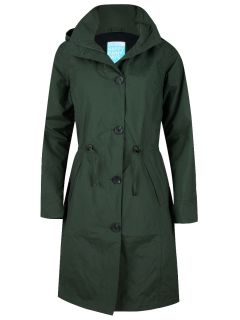 Happy-Rainy-Days-Coat-Dames-Groen-Gwen