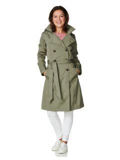 Happy-Rainy-Days-Trenchcoat-Lang-Dames-green-osaka-model