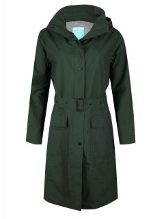 Happy-Rainy-Days-Trenchcoat-Lang -Trenchcoat-Lang-Dames-Groen-Gwen