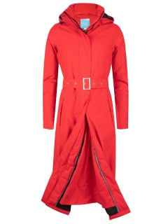 HappyRainyDays-Extra-Lange-Regenjas-gewatteerd-dames-rood-madonna