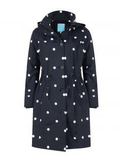 HappyRainyDays-coat-regenjas-Dames-zwartstip-beth