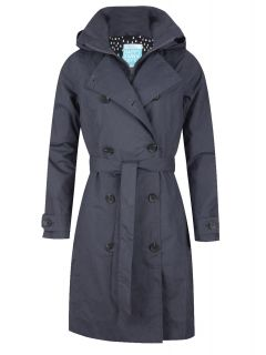HappyRainyDays-Trenchcoat-Rits-Dames-Grijs-Semmy