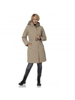 HappyRainyDays-Winterparka-Dames-Calgary-beige-model