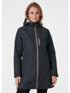 HellyHansen-Winter-Regenjas-Dames-WLong-Belfast-antracietroze-model