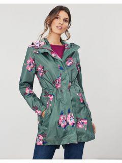 joules-GoLightly-opvouwbaar-regenjas-dames-groen-bloem-model
