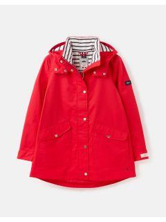 joules-regenjas-dames-coast-mac-rood