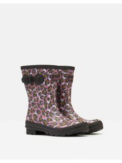 Joules-Regenlaarzen-Halfhoog-Roze-Luipaard-voor