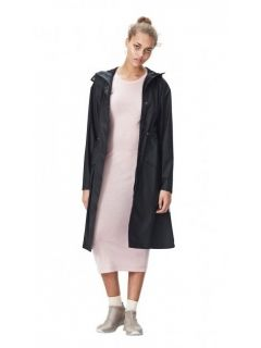 rains noon coat black