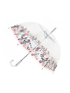 paraplu-transparant-bloem
