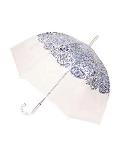 paraplu-transparant-paisley-blauw