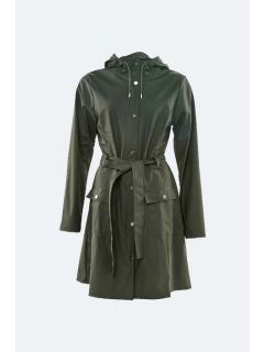 Regenjas Rains Curve Jacket Groen