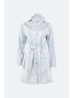 Regenjas Rains Curve Jacket Metallic Ice Grey