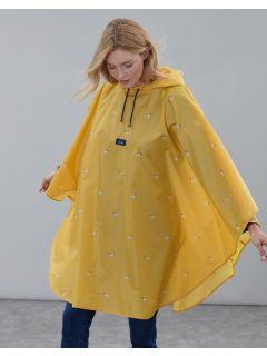 regen-poncho-cape-opvouwbaar-joules-geel-hondjes-model