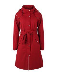 Regenjas-Dames-Bornholm-rood