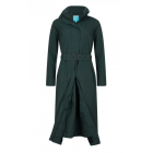 Dames-Regenjas-Happy-Rainy-Days-extra-lang-Gill-green-voorkant