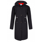 Dames-regencoat-Happy-Rainy-Days-zwart-Bowie-zwart-voorkant